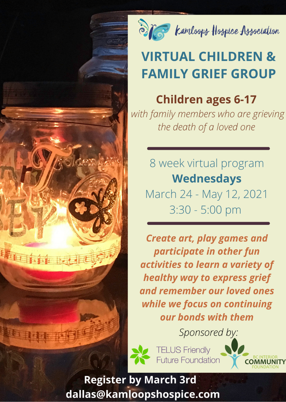 Children and Family Grief Group - Poster.png