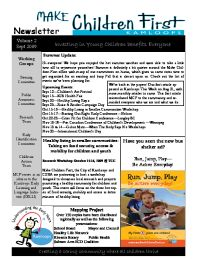 MCF Newsletter Vol 2 Sept 09