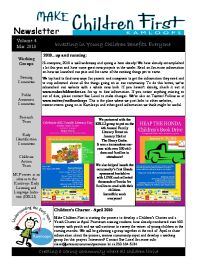 MCF Newsletter Vol 4 (Mar 2010)