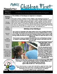 MCF Newsletter Vol 5 (Jun 2010)