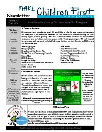MCF Newsletter Vol 3 Dec 09