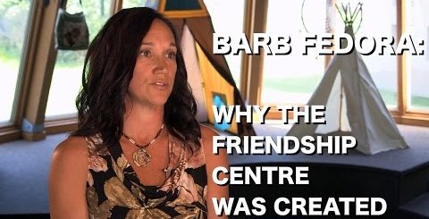 Who Does the Friendship Centre Provide Service To?